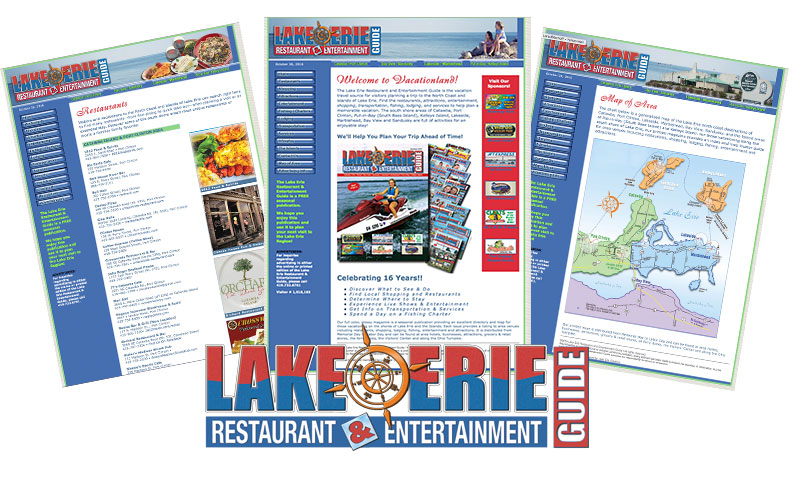 Lake Erie Restaurant and Entertainment Guide